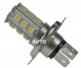 LED ŽIAROVKA 12V S PATICÍ H4 18LED/3SMD
