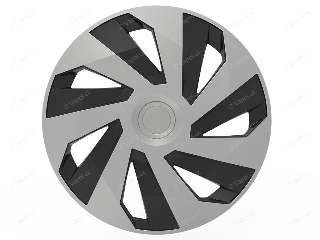 Puklice vector 14 silver/black (Puklice vector 14)